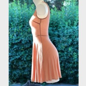 Peach Colored Forever 21 Dress Sz Small